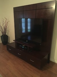 Wood Tv console (only) Mission, 78573
