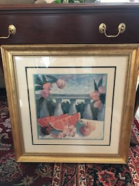 Framed Art - fruit scene Yonkers, 10701