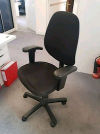 Black Leather Office Chair  Greater London, WC2H 7PS