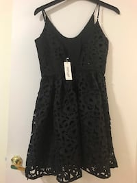 Black Girl's fancy dress, brand new , medium size Markham, L3T 3R7