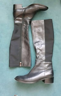 Black leather boots 38/39 Berlin, 10787