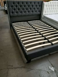 Queen size platform bed new in boxes  1956 mi