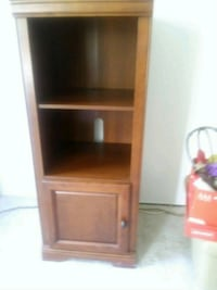 brown wooden cabinet with shelf Dale City
