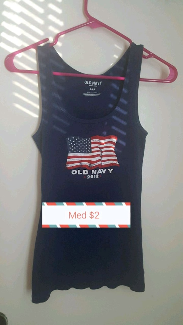 a699d197bbdee7 Used Blue Old Navy tank top for sale in Columbia - letgo