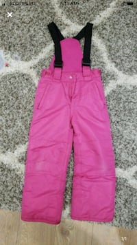 Snow pants.  Size 6x. Price is firm Mississauga, L5M 4E7