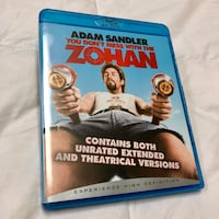 Like New You Don't Mess With The ZOHAN Blu-Ray Disc Whittier, 90605
