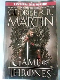 Game of Thrones book one of a song of ice and fire Baltimore