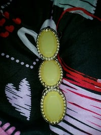 gold and white beaded braclet Canton, 44705