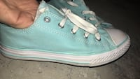 Teal converse almost new  Enid, 73703
