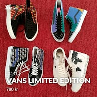 Vans limited edition size 42  Bærum, 1357