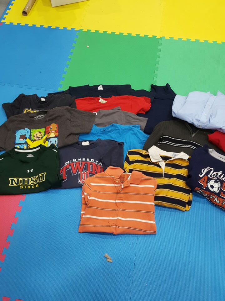Boys shirts size 10/12 lot of 15