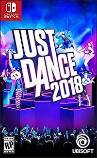 Like New Nintendo Switch Just Dance 2018 Chantilly, 20151