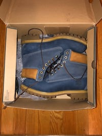 Blue Timberland Boots North Potomac, 20878