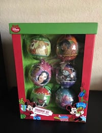 NEW! Collectibles Disney Christmas Ornament set Kissimmee, 34741