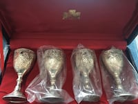 Mini Goblets Set of 4 in Original Box. Never Used. Toronto, M4S 2M8