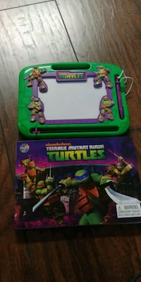 Ninja Turtles teach how to draw etch a sketch Westminster