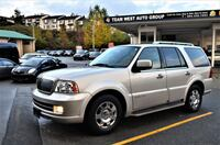 Team west Auto Group 2006 Lincoln Navigator 4WD Ultimate Local No accident One owner 98km Coquitlam