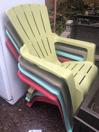 4 patio chairs in great shape!