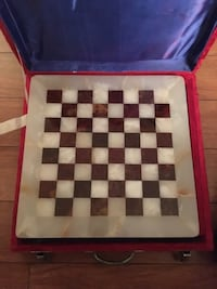 Chess game from marble Montréal, H3H 2J4