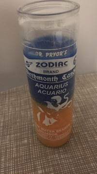 Zodiac brand aquarius water bearer candle Los Angeles, 90002