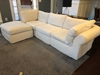 PB Air Sofa with brand new still in packaging slip covers. Herndon, 20170