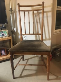 4 wooden chairs for $100
