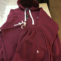 red and white Nike zip-up hoodie Queens, 11433