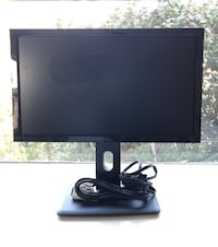 "Dell monitor that measures 20"" diagonally (19""x19"") with power and connecting cords (no HDMI cord). Monitor swivels and is adjustable for height. Works perfectly - no broken pixels or screen wear. Santa Monica, 90403"