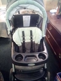 baby's black and gray stroller Manassas, 20110
