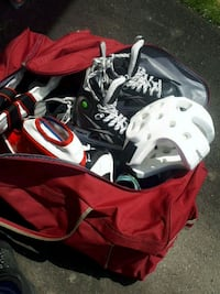 Ice shoes ,soccer shoes, Taekwondo helmet ... Milton, L9T 7K6