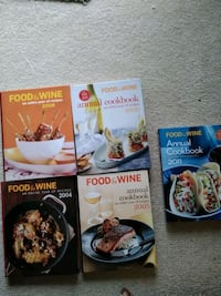 Food and wine cookbook(5) Silver Spring, 20906