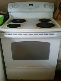 black and white 4-coil electric range oven Rocky Point, 28457