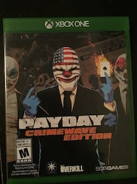 Xbox one Payday 2 crime wave edition ! like new Laval, H7V 3N4