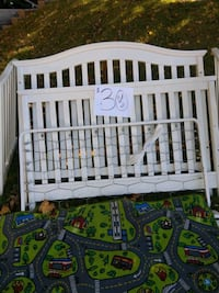 baby's white wooden crib Kansas City, 64130