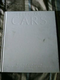 LEGENDARY CARS HARDCOVER BOOK Brownsville, N0L 1C0