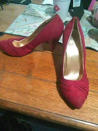 Charlotte reese red shoes size 7 Hedgesville, 25427