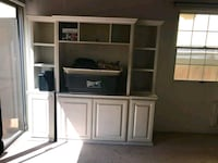 white wooden TV hutch Los Angeles, 90028