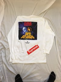 White Supreme Counterattack Long Sleeve  Moore, 73160