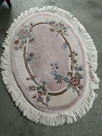 BEAUTIFUL OVAL HAND KNOTTED RUG Port Moody