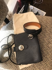 Ralph Lauren Handbag and Belt Gift Set
