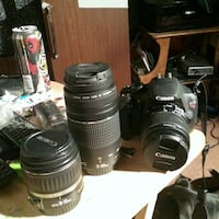Canon EOS Rebel T5 camera w/2 extra lens er South Lake Tahoe, 96150