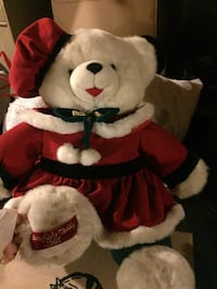 white and red bear plush toy Forsyth, 65653