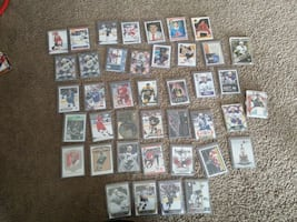 Assorted rookie cards