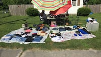 Yard sale Salisbury, 21804
