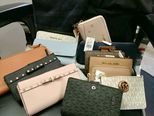 Original and new wallet mk and kate spade for sale