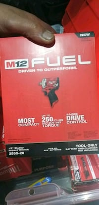 Milwaukee M12 fuel impact wrench