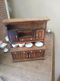 Play Doll House Furniture wooden kitchen cupboard  Charlotte, 28273