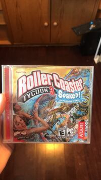 Unopened roller coaster tycoon Waterloo, N2L 2W2