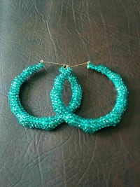 Turquoise blue earings