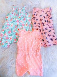 Baby Girl Rompers Lot Milton, L9T